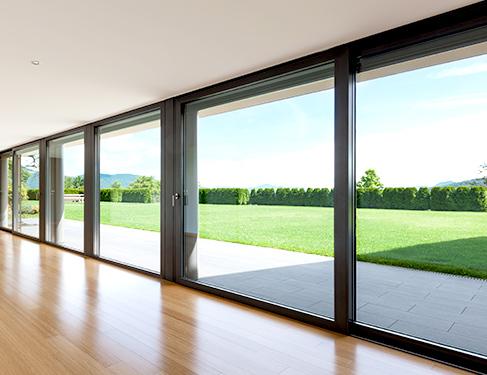 puertas correderas para terrazas materiales de