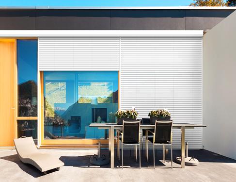 Persianas exteriores para balcones free alicantina pvc son persianas enrollables ideales para - Persianas para balcones ...