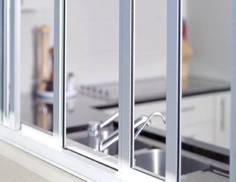 Cardenas carpinter a de aluminio en barcelona y sant for Ventanas de aluminio para cocina